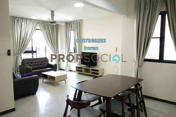 For Rent Condominium at Casa Kiara II, Mont Kiara Freehold Fully Furnished 3R/2B 3.2k
