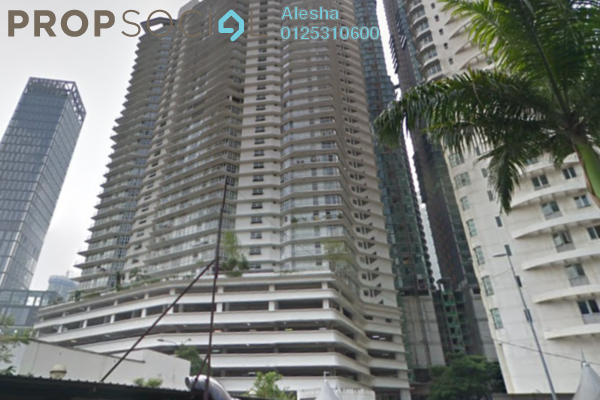 For Sale Condominium at Idaman Residence, KLCC Freehold Semi Furnished 0R/0B 1.7m