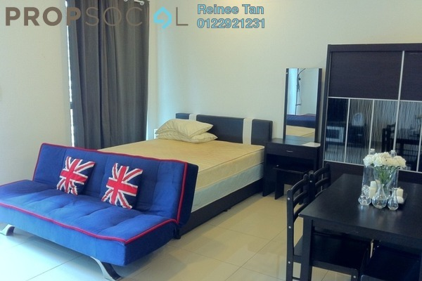 For Rent Condominium at CyberSquare, Cyberjaya Freehold Fully Furnished 0R/1B 1.2k