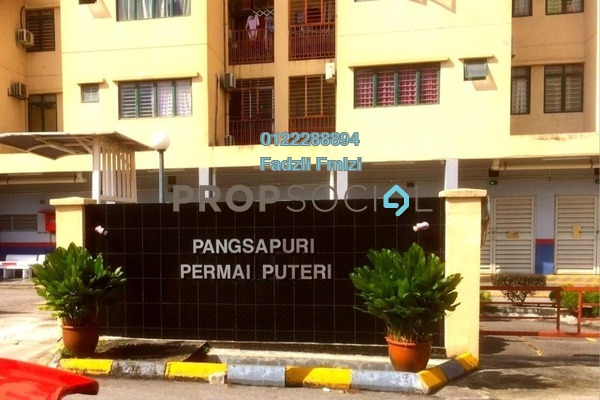 For Rent Apartment at Permai Puteri, Ampang Freehold Unfurnished 3R/2B 1.25k