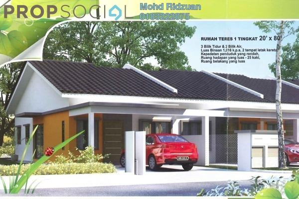 For Sale Terrace at Taman Salak Kasturi, Sepang Leasehold Unfurnished 3R/2B 370k