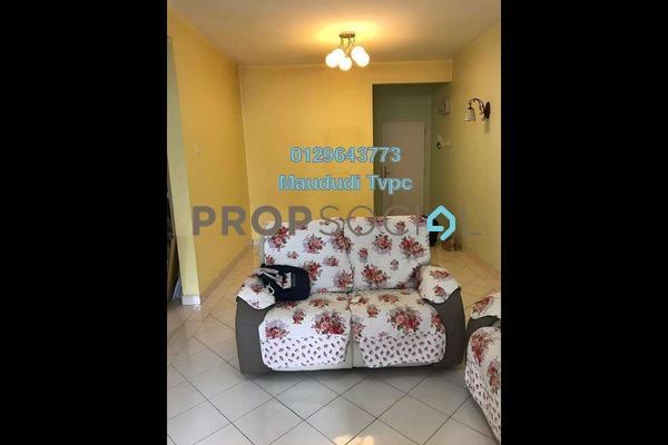 For Sale Apartment at Taman Cheras Hartamas, Cheras Freehold Semi Furnished 3R/2B 340k