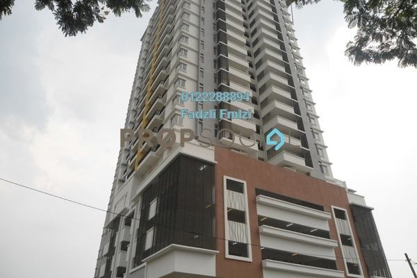 For Rent Condominium at Vistaria Residensi, Cheras Freehold Semi Furnished 4R/2B 2k