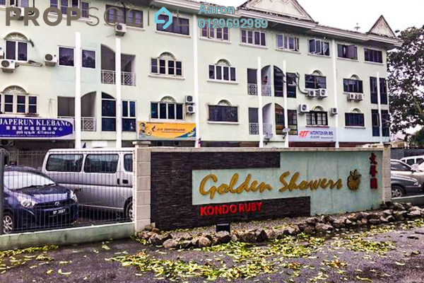 For Sale Apartment at Golden Showers, Klebang Freehold Fully Furnished 3R/2B 240k