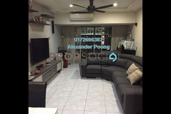 For Sale Townhouse at Villa Mas 1, Jalan Ipoh Freehold Semi Furnished 3R/3B 650k