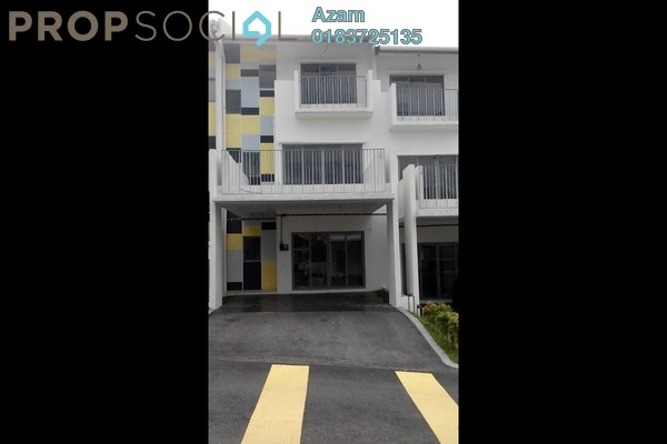For Sale Terrace at Halamanda, Gombak Freehold Semi Furnished 4R/5B 1000k