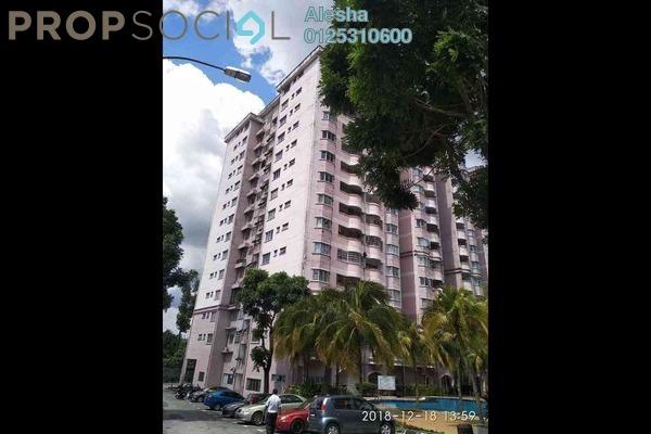 For Sale Apartment at Taman Sungai Besi Indah, Seri Kembangan Freehold Unfurnished 0R/0B 218k