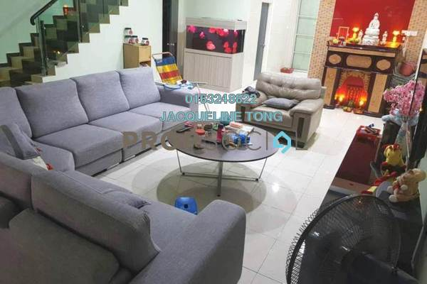 For Sale Terrace at Alam Sanctuary, Bandar Putra Permai Freehold Fully Furnished 4R/4B 880k