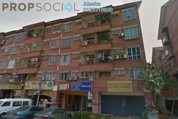 For Sale Apartment at Red Ruby Apartment, Seri Kembangan Freehold Unfurnished 0R/0B 207k