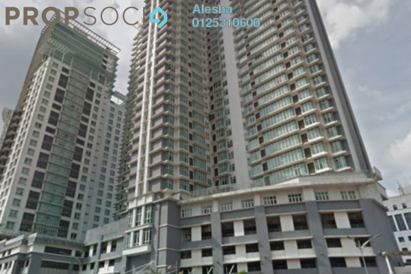 For Sale Serviced Residence at Dua Sentral, Brickfields Freehold Unfurnished 0R/0B 511k