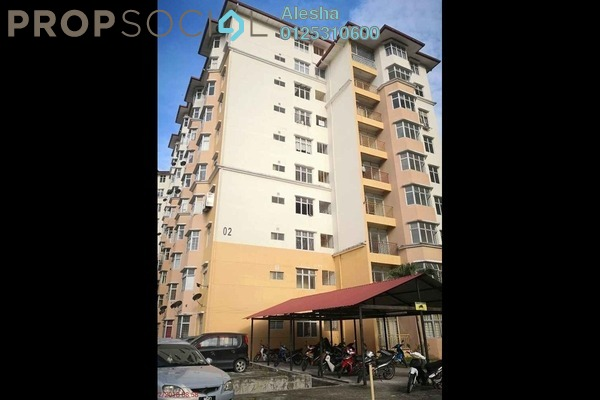 For Sale Apartment at Sri Palma Villa Condominium, Mantin Freehold Unfurnished 0R/0B 73k
