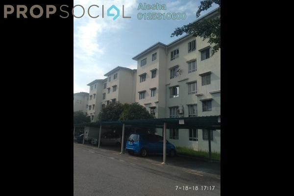 For Sale Apartment at Bandar Tasik Puteri, Rawang Freehold Unfurnished 0R/0B 75k