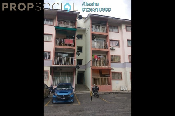 For Sale Apartment at Taman Cemerlang, Gombak Freehold Unfurnished 0R/0B 250k