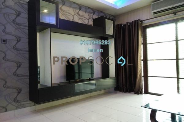For Rent Condominium at Hartamas Regency 1, Dutamas Freehold Fully Furnished 3R/3B 3.8k