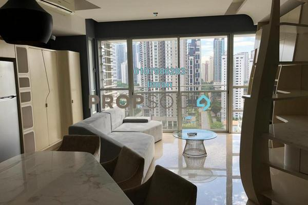 For Rent Serviced Residence at VERVE Suites, Mont Kiara Freehold Fully Furnished 2R/2B 4.5k