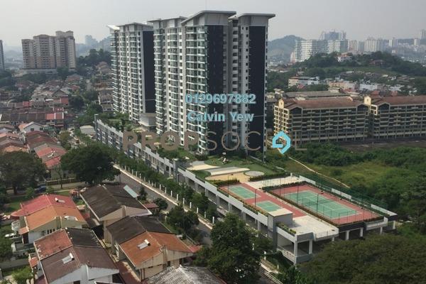For Sale Condominium at KL Palace Court, Kuchai Lama Freehold Semi Furnished 2R/2B 530k