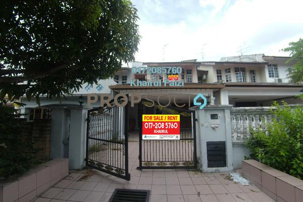 For Sale Terrace at Bandar Baru Uda, Johor Bahru Freehold Semi Furnished 4R/3B 490k