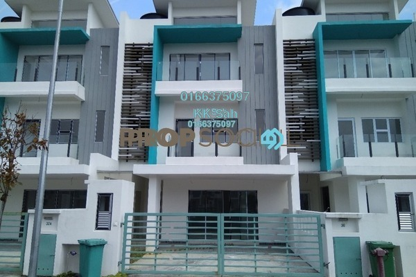 For Sale Superlink at The Clover Homes @ Laman Semanggi, Semenyih Freehold Unfurnished 5R/5B 650k