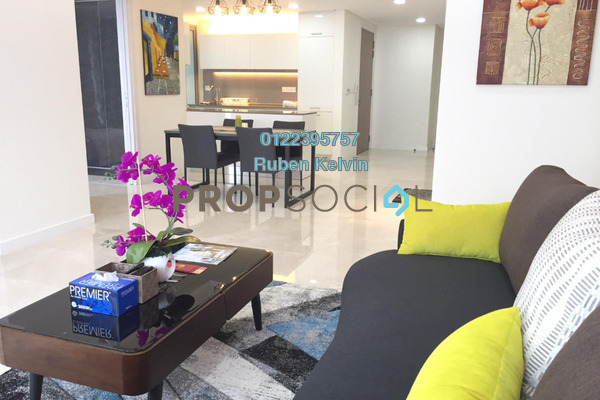 For Sale Serviced Residence at The Sentral Residences, KL Sentral Freehold Fully Furnished 1R/2B 1.78m