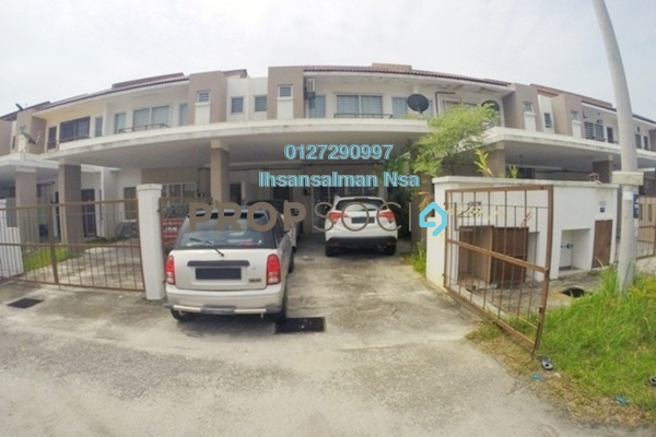 For Sale Terrace at Bandar Puncak Alam, Kuala Selangor Freehold Semi Furnished 4R/3B 480k