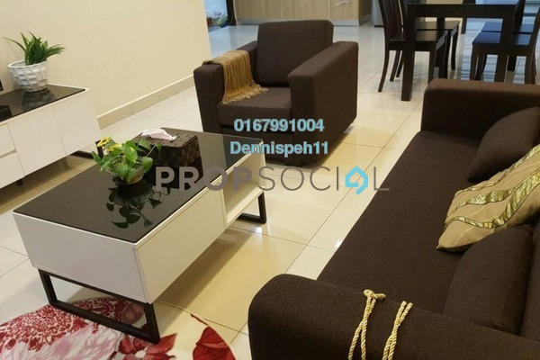 For Rent Serviced Residence at Pandan Residence 1, Johor Bahru Freehold Fully Furnished 1R/1B 1.3k