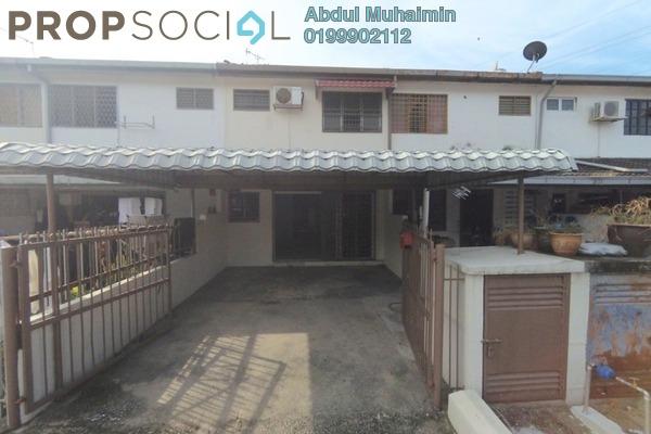 For Sale Terrace at Taman Setapak Permai, Setapak Freehold Semi Furnished 3R/3B 470k