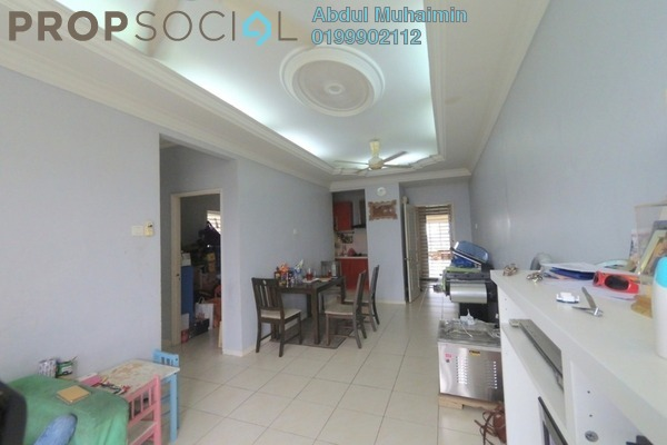 For Sale Apartment at Baiduri Courts, Bandar Bukit Puchong Freehold Semi Furnished 3R/2B 330k