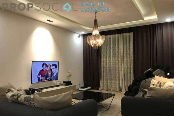 For Rent Condominium at Kiaramas Danai, Mont Kiara Freehold Fully Furnished 4R/5B 7k