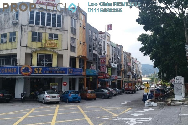 For Sale Shop at Taman Rasa Sayang, Cheras South Freehold Semi Furnished 0R/4B 2.18m