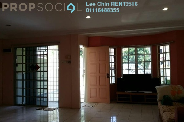 For Sale Terrace at Taman Connaught, Cheras Freehold Semi Furnished 4R/3B 750k