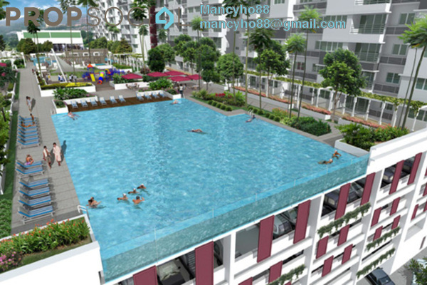For Sale Condominium at Koi Kinrara, Bandar Puchong Jaya Freehold Fully Furnished 3R/2B 430k