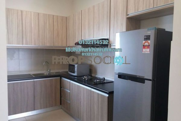 For Sale Serviced Residence at Residensi Alami, Shah Alam Freehold Unfurnished 3R/2B 450k