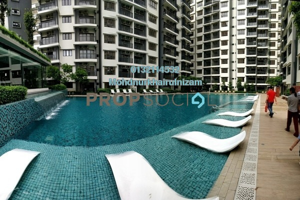 For Sale Serviced Residence at Suria Residence, Bukit Jelutong Freehold Unfurnished 3R/2B 760k