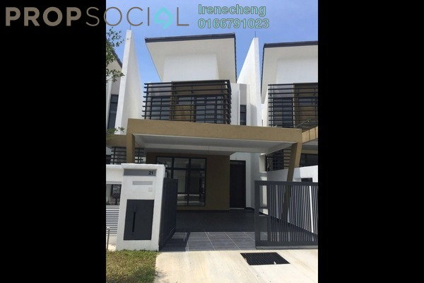 For Sale Terrace at Laman Glenmarie, Saujana Freehold Unfurnished 4R/4B 1m