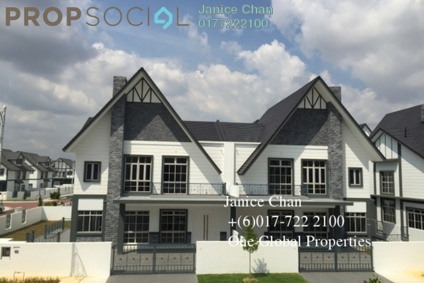 For Sale Semi-Detached at Eco Spring, Tebrau Freehold Unfurnished 4R/5B 2.4m