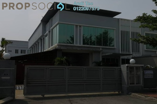 For Rent Factory at LEKAS 18, Semenyih Freehold Unfurnished 0R/0B 8k