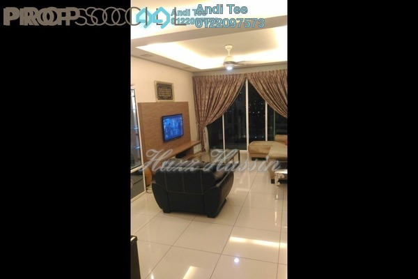 For Sale Condominium at The Zest, Bandar Kinrara Freehold Semi Furnished 3R/2B 625k