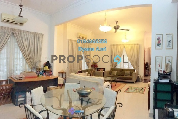 For Sale Terrace at Ubin, Bukit Jelutong Freehold Semi Furnished 5R/5B 1.29m