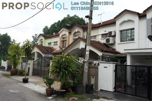 For Sale Terrace at Section 6, Bandar Mahkota Cheras Freehold Semi Furnished 4R/3B 450k
