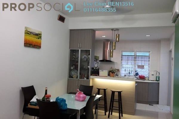 For Sale Townhouse at D'Impian Tropika, Balakong Freehold Semi Furnished 3R/3B 485k