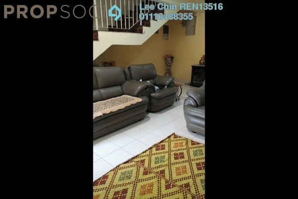For Sale Terrace at Taman Segar Perdana, Cheras Freehold Semi Furnished 4R/3B 760k