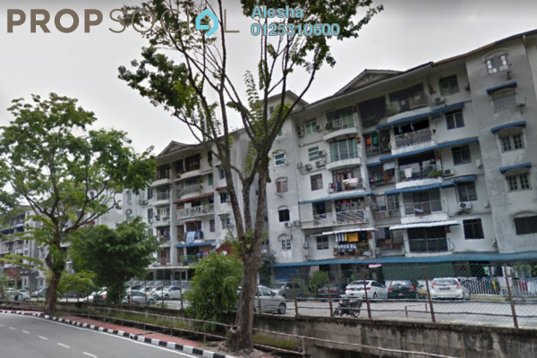 For Sale Apartment at Jalan Air Itam, Air Itam Freehold Unfurnished 0R/0B 250k