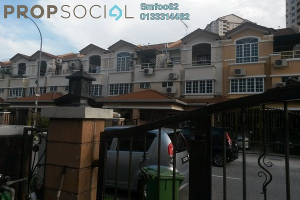 For Sale Terrace at Medan Idaman, Setapak Freehold Semi Furnished 6R/4B 1.15m