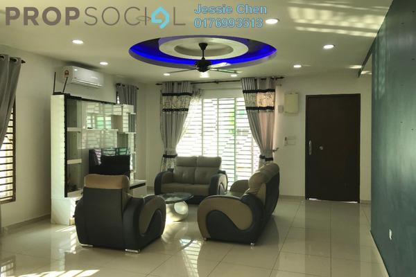 For Rent Terrace at Elvina, Bandar Sri Sendayan Freehold Fully Furnished 4R/4B 2.3k