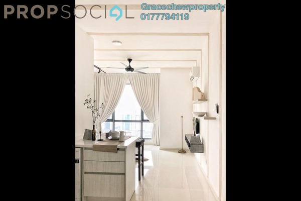 For Rent Condominium at SKS Pavillion Residences, Johor Bahru Freehold Fully Furnished 0R/1B 1.5k
