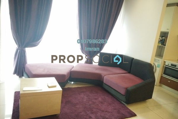 For Rent Serviced Residence at VERVE Suites, Mont Kiara Freehold Fully Furnished 1R/1B 2.8k