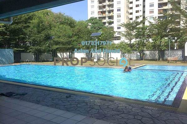 For Sale Condominium at Astana Lumayan, Bandar Sri Permaisuri Freehold Semi Furnished 3R/2B 480k