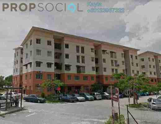 For Sale Apartment at BP2, Bandar Bukit Puchong Freehold Unfurnished 0R/0B 120k