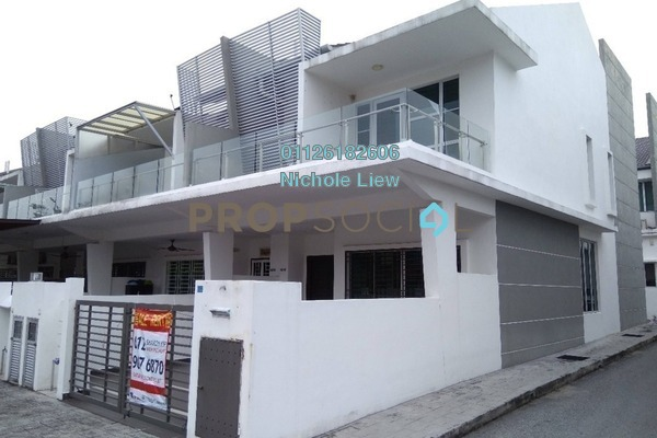 For Rent Link at Taman Rakan, Bandar Sungai Long Freehold Semi Furnished 4R/3B 1.8k