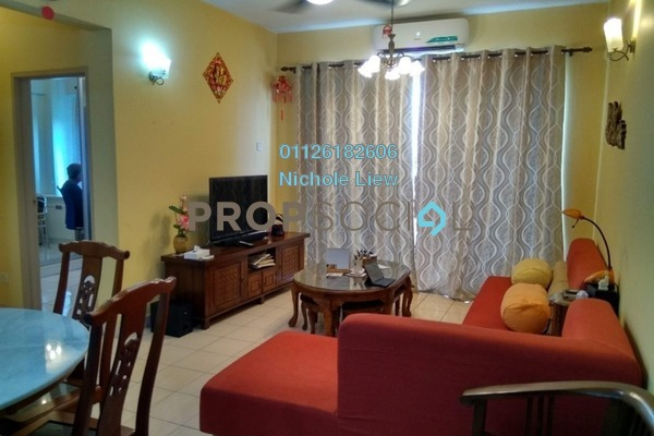 For Sale Condominium at Vista Harmoni, Cheras South Freehold Fully Furnished 3R/2B 388k